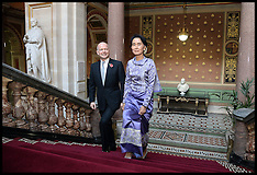 OCT 23 2013 Aung San Suu Kyi London Visit