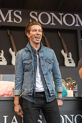 May 25, 2018 - Napa, California, U.S - SHAUN WHITE on the Culinary Stage during BottleRock Music Festival at Napa Valley Expo in Napa, California (Credit Image: © Daniel DeSlover via ZUMA Wire)
