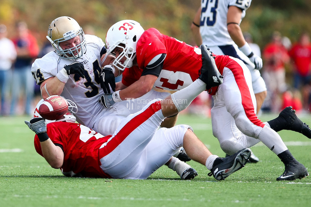Jake King (47) and Andrew Rose (33). Credit: Brace Hemmelgarn-Saint John's University
