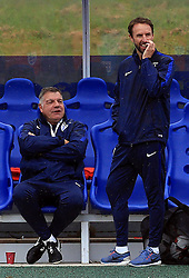 File photo dated 03-09-2016 of England manager Sam Allardyce talking with England U21's manager Gareth Southgate