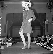 13/11/1967<br /> 11/13/1967<br /> 13 November 1967<br /> Irish Leather Federation, Leather Fashions at the Gresham Hotel, Dublin.<br /> Peacock Suede coat by Suedes of Ireland.