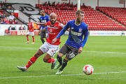 Bury's Danny Mayor during the Sky Bet League 1 match between Walsall and Bury at the Banks's Stadium, Walsall, England on 5 September 2015. Photo by Shane Healey.