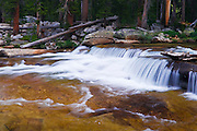 Cascade on the Tuolumne River,  Yosemite National Park, California