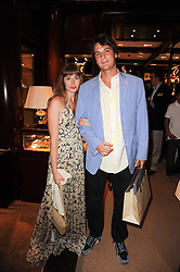 Anouska Beckwith and Xan Morgan at the Ralph Lauren Wimbledon Party held at Ralph Lauren, 1 New Bond Street, London on 17th June 2010.