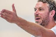 27-04-2014 : WATERPOLO : GZC DONK - AZC : GOUDA<br /> <br /> Coach Arno Havenga van GZC Donk<br /> Play-offs Eredivisie Heren - Seizoen 2013/2014<br /> <br /> Foto: Gertjan Kooij