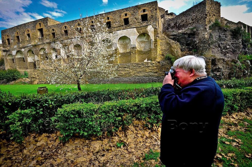 Ruins of Pompei.