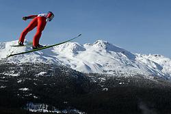 OLYMPISCHE SPIELE: Winterspiele 2010: Skispringen, Whistler, 22.02.2010,<br /> Illustration<br /> © pixathlon