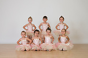 The Dance Company of Los Gatos students pose for portraits during Photo Day at The Dance Company of Los Gatos in Los Gatos, California, on May 30, 2017. (Stan Olszewski/SOSKIphoto)