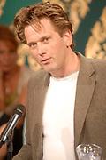 Uitreiking van de Nipkowschijf 2007 in de plantage amsterdam:<br /> <br /> Op de foto: winnaars van de Zilveren Pricett voor de website van Tegenlicht