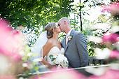 Crystal & Ryan's pretty summer wedding at Cambridge Mill