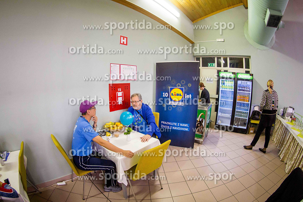 VIP during day 2 of 15th EPINT tournament - European Table Tennis Championships for the Disabled 2017, at Arena Tri Lilije, Lasko, Slovenia, on September 29, 2017. Photo by Ziga Zupan / Sportida