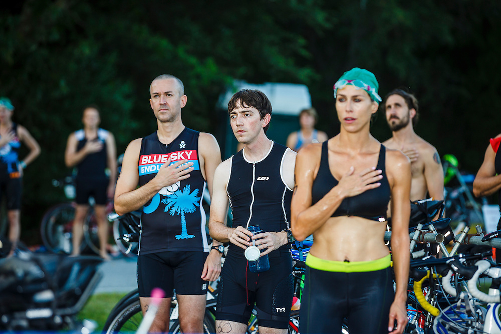 Images from the 4th race in the 2016 Charleston Sprint Triathlon Series at James Island County Park in Charleston, South Carolina.