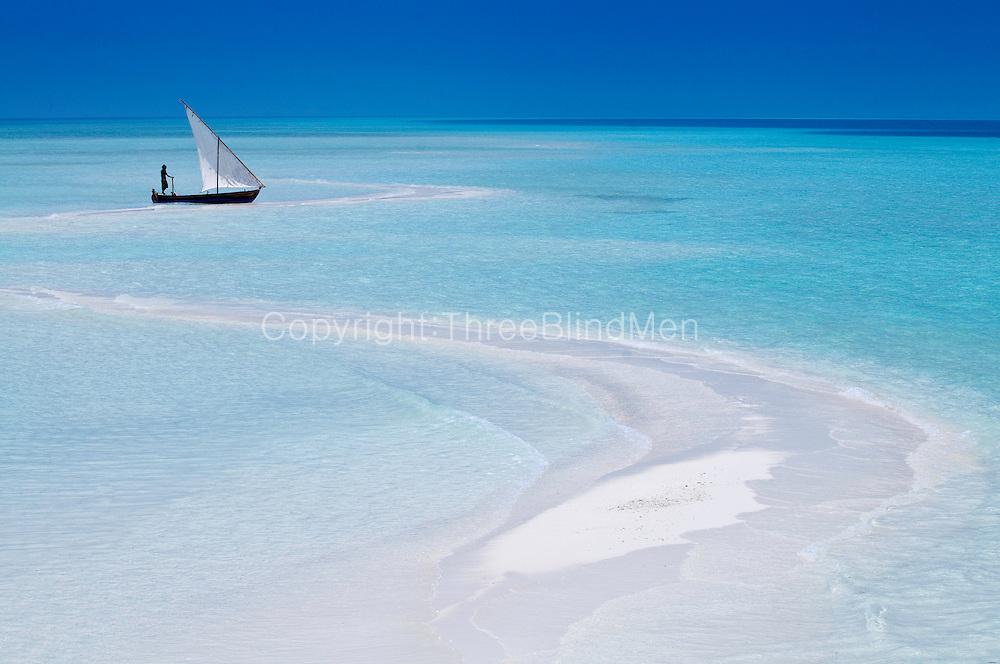 Traditional Dhoni, Kuramathi Island Maldives.