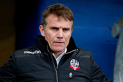 Bolton Wanderers manager Phil Parkinson - Mandatory by-line: Matt McNulty/JMP - 15/04/2017 - FOOTBALL - Boundary Park - Oldham, England - Oldham Athletic v Bolton Wanderers - Sky Bet League 1