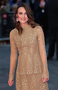 Oct 08, 2014 - 'The Imitation Game' - Opening Night Gala VIP Arrivals - 58th London Film Festival<br /> <br /> Photo Shows: Keira Knightley<br /> ©Exclusivepix