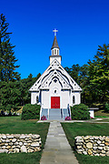Country church, West Cornwall, Connecticut,  USA