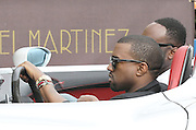 19.MAY.2011. CANNES<br /> <br /> KANYE WEST ARRIVING IN HIS CAR AT THE HOTEL MARTINEZ AT THE 64TH CANNES INTERNATIONAL FILM FESTIVAL 2011 IN CANNES, FRANCE<br /> <br /> BYLINE: EDBIMAGEARCHIVE.COM<br /> <br /> *THIS IMAGE IS STRICTLY FOR UK NEWSPAPERS AND MAGAZINES ONLY*<br /> *FOR WORLD WIDE SALES AND WEB USE PLEASE CONTACT EDBIMAGEARCHIVE - 0208 954 5968*