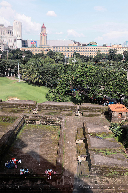 View from Bayleaf Intramuros hotel, Manila