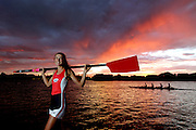 Rower Olympia Aldersey won her first World Cup event with the quad sculls in Sydney last weekend and is on track to be at the Olympics in Rio