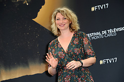 "Monte Carlo, 57th Festival of Television. Photocall ""Candice Renoir"" pictured: Cecile Bois"