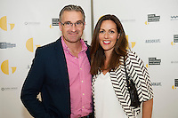 irish Distillers Niall Beatty and his wife Orla from Barna  at  the opening night of Galway international Arts Festival 2015 at the Radisson Blu Hotel Galway. Photo:andrew Downes xposure