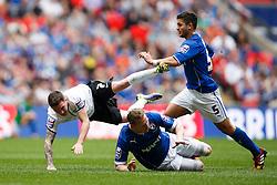 - Photo mandatory by-line: Rogan Thomson/JMP - 07966 386802 - 30/03/2014 - SPORT - FOOTBALL - Wembley Stadium, London - Chesterfield FC v Peterborough United - Johnstone's Paint Trophy Final.