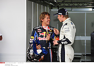 *** Local Caption *** vettel (sebastian) - (ger) -..hulkenberg (nico) - (ger) -