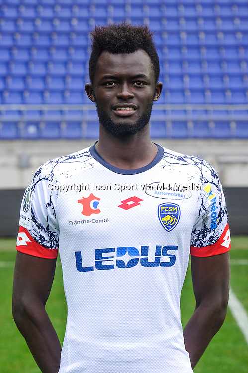 Papa Demba Camara - 03.11.2015 - Portrait Officiel Sochaux <br /> Photo : Sebastien Bozon / Icon Sport