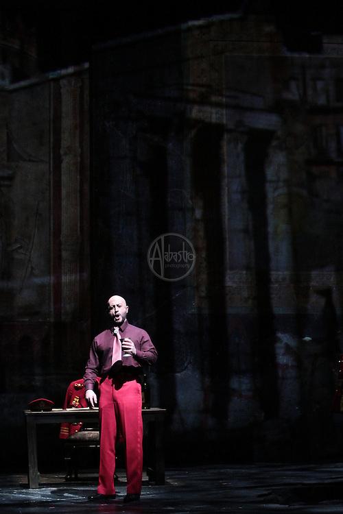 Seattle Opera's production of Giuseppe Verdi's Attila, January 2011.