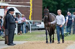 Jung Michael (GER) - Fischer Rocana FST<br /> Horse Inspection <br /> CCI4*  Luhmuhlen 2014 <br /> © Hippo Foto - Jon Stroud
