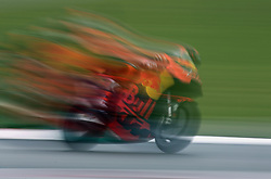 May 22, 2018 - Barcelona, Catalonia, Spain - Mika Kallio (KTM) during the Moto GP test in the Barcelona Catalunya Circuit, on 22th May 2018 in Barcelona, Spain. (Credit Image: © Joan Valls/NurPhoto via ZUMA Press)