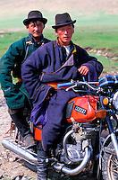 Mongolie, Province d'Arkhangai, nomades // Mongolia, Arkhangai province, nomad