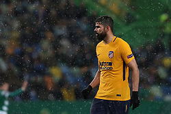 April 12, 2018 - Lisbon, Portugal - Atletico Madrids forward Diego Costa  of Spain during the UEFA Europa League second leg football match Sporting CP vs Atletico Madrid at Alvalade stadium in Lisbon, on April 12, 2018. (Credit Image: © Pedro Fiuza/NurPhoto via ZUMA Press)