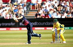 Sarah Taylor of England Women is bowled by Kristen Beams of Australia Women  - Mandatory by-line: Robbie Stephenson/JMP - 09/07/2017 - CRICKET - Bristol County Ground - Bristol, United Kingdom - England v Australia - ICC Women's World Cup match 19