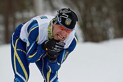 VOVCHYNSKYI Grygorii, UKR, Long Distance Biathlon, 2015 IPC Nordic and Biathlon World Cup Finals, Surnadal, Norway