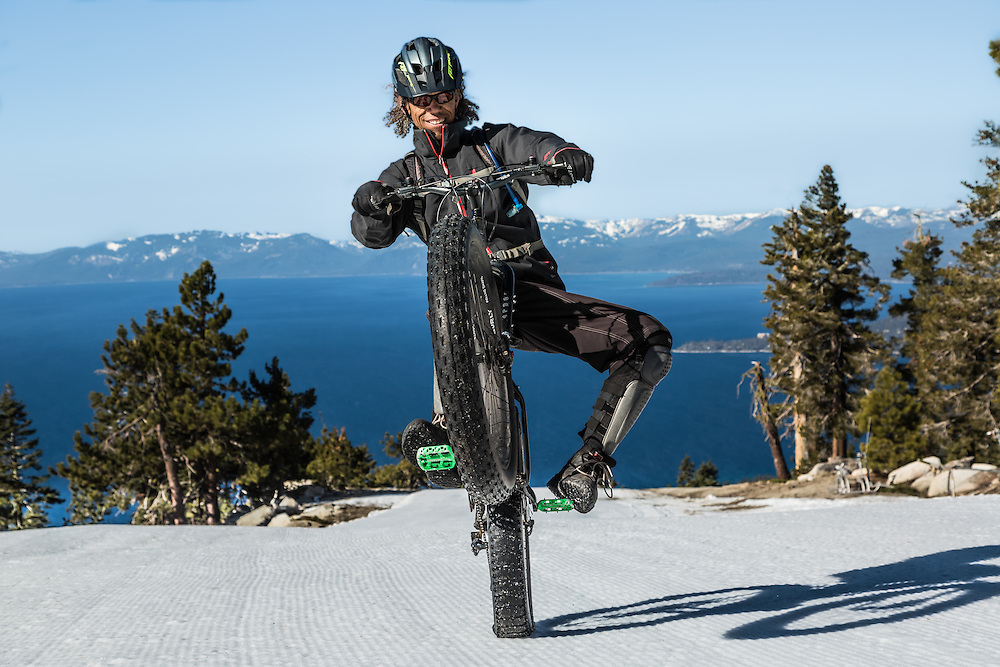 Gary Bell (Sierra Ski and Cycle Works)<br /> Diamond Peak Ski Resort.  Lake Tahoe Basin. Nevada.