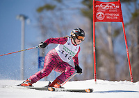 Francis Piche Invitational j4 1st run girls at Gunstock March 19, 2010....