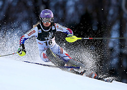 04.01.2013, Crveni Spust, Zagreb, AUT, FIS Ski Alpin Weltcup, Slalom, Damen, 1. Lauf, im Bild Tessa Worley (FRA) // Tessa Worley of France in action during 1st Run of the ladies Slalom of the FIS ski alpine world cup at Crveni Spust course in Zagreb, Croatia on 2013/01/04. EXPA Pictures © 2013, PhotoCredit: EXPA/ Pixsell/ Jurica Galoic..***** ATTENTION - for AUT, SLO, SUI, ITA, FRA only *****