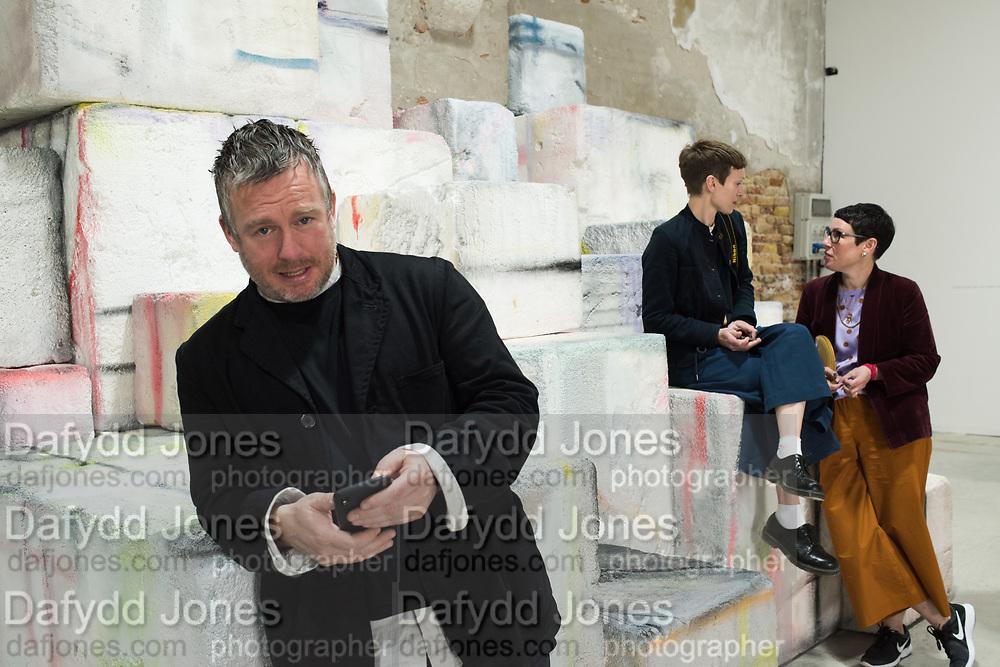 STUART SHAVE, EVA ROTHSCHILD, ROSIE EDWARD, IRISH PAVILION, Opening of the Venice Biennale, Venice, 8 May 2019