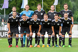 Team of Mura prior football match between NS Mura and NK Triglav Kranj in 1st Round of Prva liga Telekom Slovenije 2018/19, on July 21, 2018 in Mestni stadion Fazanerija, Murska Sobota , Slovenia. Photo by Mario Horvat / Sportida