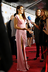 Actress PENELOPE CRUZ being interviewed at the 'Twice Born' premiere during the 2012 Toronto International Film Festival at Roy Thomson Hall, September 13th 2012.  Photo by David Tabor/ i-Images.