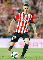 30.05.2015, Camp Nou, Barcelona, ESP, Copa del Rey, Athletic Club Bilbao vs FC Barcelona, Finale, im Bild Athletic de Bilbao's Aritz Aduriz // during the final match of spanish king's cup between Athletic Club Bilbao and Barcelona FC at Camp Nou in Barcelona, Spain on 2015/05/30. EXPA Pictures &copy; 2015, PhotoCredit: EXPA/ Alterphotos/ Acero<br /> <br /> *****ATTENTION - OUT of ESP, SUI*****