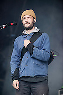 Orlando Weeks of The Maccabees performs at the Aviemore Stopover festival on August 1, 2015 in Aviemore, Scotland.