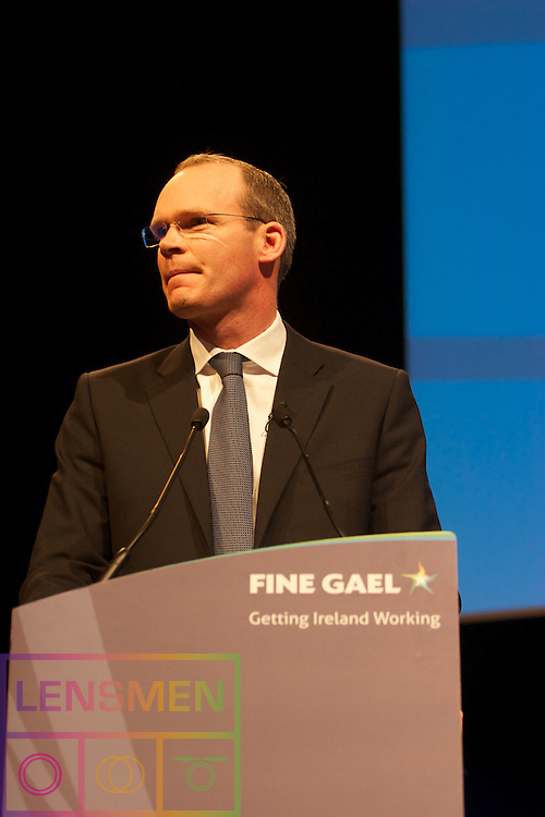 The Fine Gael Ard Fheis in the Convention Centre Dublin, Ireland. 31th March 2012<br />