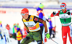 19.02.2016, Salpausselkae Stadion, Lahti, FIN, FIS Weltcup Nordische Kombination, Lahti, Langlauf, im Bild v.l.: Sieger Eric Frenzel (GER), Akito Watabe (JPN, 2. Platz) // f.l.: Winner Eric Frenzel of Germany, 2nd placed Akito Watabe of Japan competes during Cross Country Gundersen Race of FIS Nordic Combined World Cup, Lahti Ski Games at the Salpausselkae Stadium in Lahti, Finland on 2016/02/19. EXPA Pictures © 2016, PhotoCredit: EXPA/ JFK