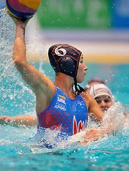 20-01-2012 WATERPOLO: EC HUNGARY - NETHERLANDS: EINDHOVEN<br /> European Championships Hungary - Netherlands / Nomi Stomphorst<br /> ©2012-FotoHoogendoorn.nl