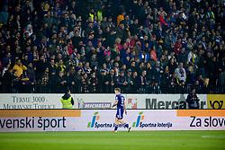 Dino Hotic during football match between NK Maribor and NK Olimpija Ljubljana in Round #14 of Prva liga Telekom Slovenije 2018/19, on October 27, 2018 in Ljudski Vrt, Maribor, Slovenia. Photo by Morgan Kristan