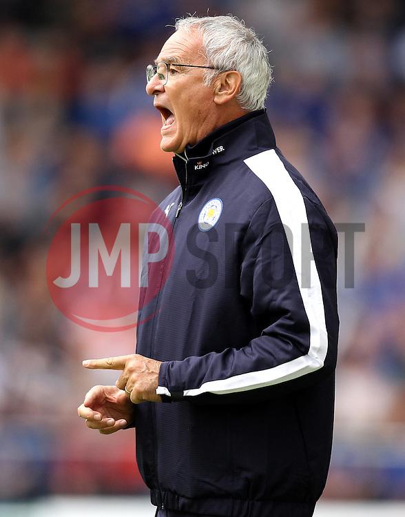 Leicester City Manager Claudio Ranieri - Mandatory by-line: Robbie Stephenson/JMP - 25/07/2015 - SPORT - FOOTBALL - Mansfield,England - Field Mill - Mansfield Town v Leicester City - Pre-Season Friendly