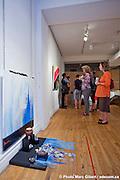 """Vernissage de l'exposition """" Nos soiétés de CON-sommation  à  Artothèque / Montreal / Canada / 2011-09-08, © Photo Marc Gibert / adecom.ca"""