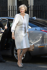 2016-07-19 Theresa May cabinet meets at Downing Street for first time.